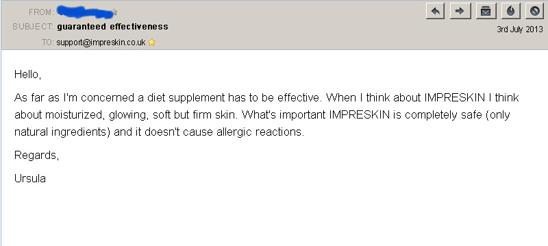 customer review 4 imperskin