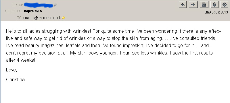 customer review 1 imperskin