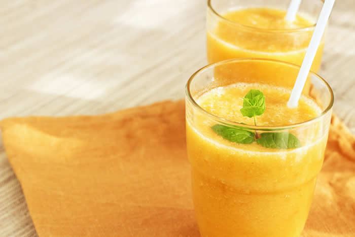 lemon and orange smoothie