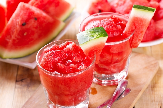 watermelon and ginger smoothie